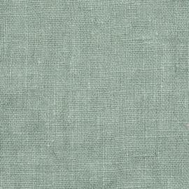 Spa Green Linen Fabric Sample Rustic