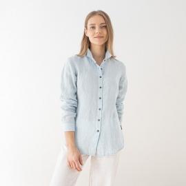 White Linen Shirt Paolo