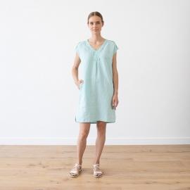 Linen Dress White Emily