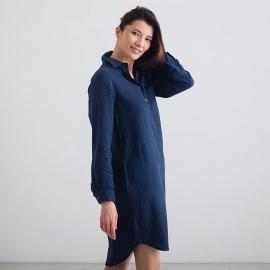 Indigo Linen Tunic Camilla