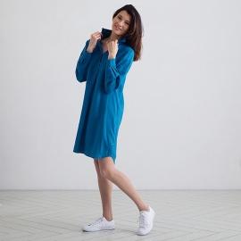 Sea Blue Linen Tunic Camilla