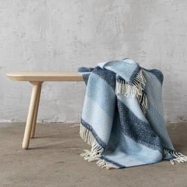 Wool Throw Valentino Blue