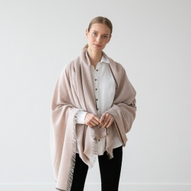 Rosa Wool Shawl Salvatore