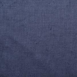 Vintage Indigo Linen Fabric Sample Lara