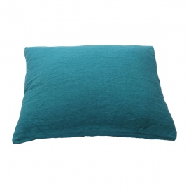 Sapphire Stone Washed Bed Linen Pillow Case