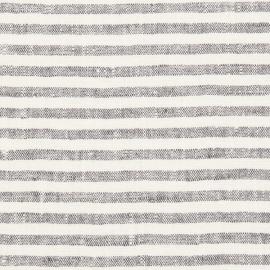 Linen Fabric Sample Graphite Brittany
