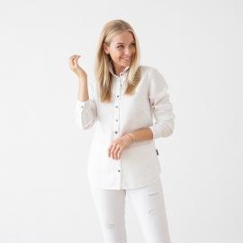 White Linen Shirt Ernesto