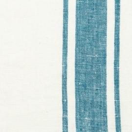 Fabric Sample Marine Blue Linen Tuscany