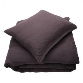 Rabbit Linen Bed Set Stone Washed