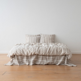 Natural Washed Bed Linen Duvet Jazz