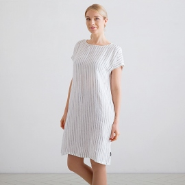 Black Linen Dress Alice