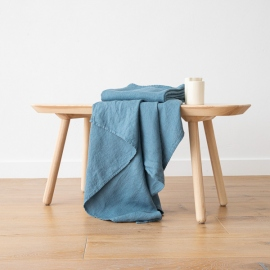 Jeans  Linen Waffle Bath Towel Washed