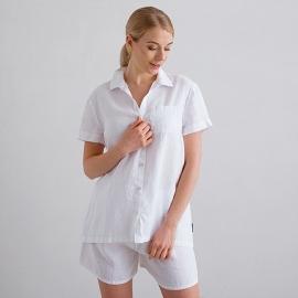 White Linen Pyjama Emilia