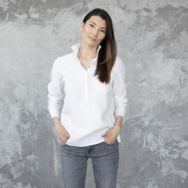 White Linen Shirt Fabio