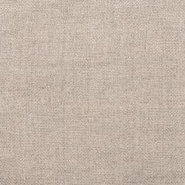 Natural Linen Fabric Sample Rustico