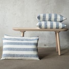 Linen Cushion Cover Indigo Philippe