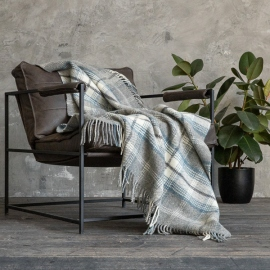 Grey Wool Throw Donato