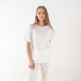 White Linen Blouse Luisa