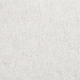 Silver Linen Fabric Sample Stone Washed Rhomb