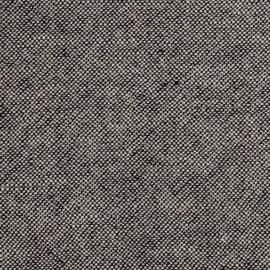 Natural/Black Linen Fabric Sample Rustico