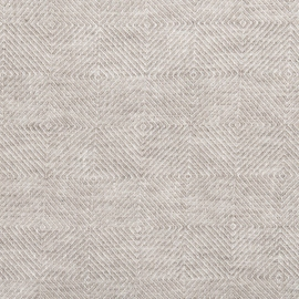Natural Linen Fabric Sample Stone Washed Rhomb