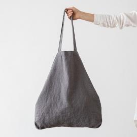 Linen Shopping Bag Terra Concrete
