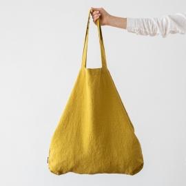 Linen Shopping Bag Terra Citrine