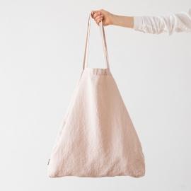 Linen Shopping Bag Terra Latte