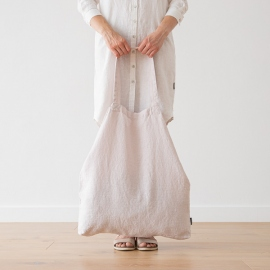 Linen Shopping Bag Terra Poudre