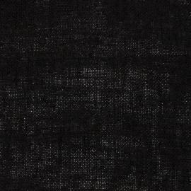Black Linen Fabric Rustico