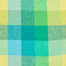 Green Linen Fabric Milano