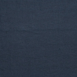 Linen Fabric Washed Upholstery Navy