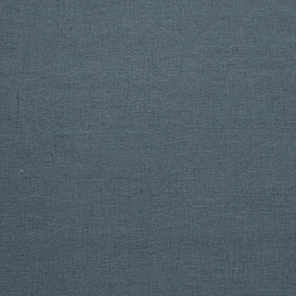 Linen Fabric Washed Upholstery Blue
