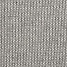 Linen Fabric Check Grey