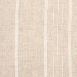 Linen Fabric Stripe Beige