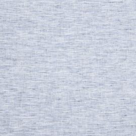 Linen Fabric Pinstripe Blue