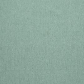 Linen Cotton Fabric Sample Moss Green Paula