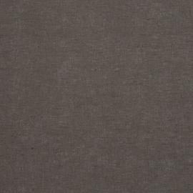 Linen Cotton Fabric Grey Paula