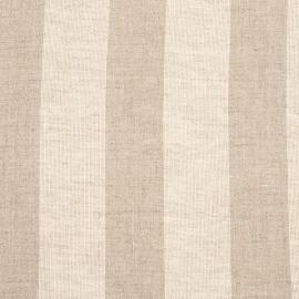 Linen Fabric Stripe Cream