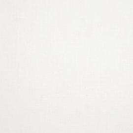 Linen Fabric Plain White
