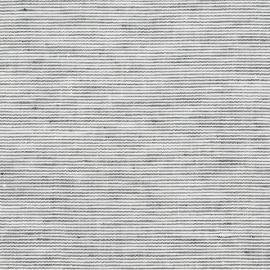 Linen Fabric Sample Pinstripe Graphite