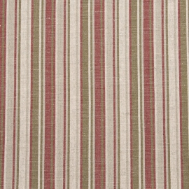 Linen Fabric Stripe Multicolor