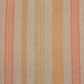 Linen Fabric Stripe Multicolor