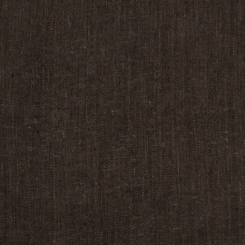 Linen Fabric Sample Plain Brown