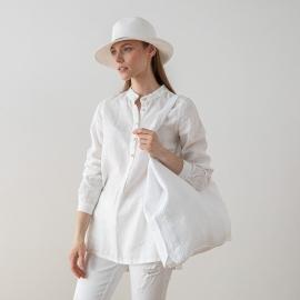 Linen Bag Terra White