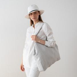 Linen Bag Terra Silver