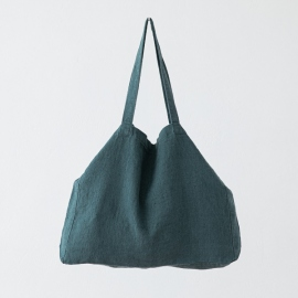 Linen Bag Terra Balsam Green