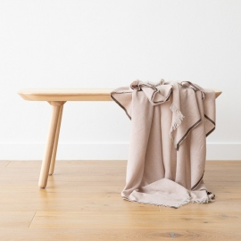 Cashmere Wool Throw Rosa Salvatore
