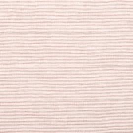 Linen Fabric Pinstripe Rosa