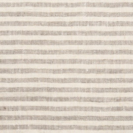 Creme Natural  Linen Fabric Brittany